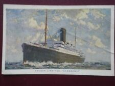 POSTCARD ANCHOR LINE T.S.S. 'CAMERONIA'
