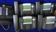 Lot Of 5 Polycom Ip550 Business Phones Telecom Systems