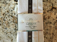 WATERFORD  Linens Classic Napkins  CREAM  (Set of 4) ***NEW IN PACKAGE***
