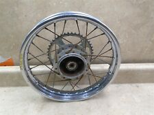 Honda 50 MR ELSINORE MR50 Used Rear Wheel Rim HB350 1975