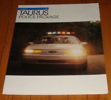 Original 1993 Ford Taurus Police Package Sales Brochure
