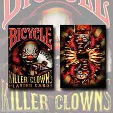 Killer Clowns Deck Bicycle Playing Cards Poker Size USPCC Limited Edition Sealed