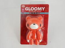"Gloomy Bear Naughty grizzly 3.5 inch "" vinyl figure Mori Chax  orange"