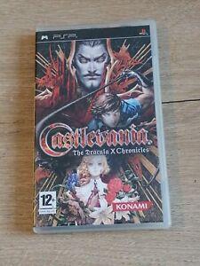 Castlevania dracula X Chronicles playstation PSP VERSION FRANÇAISE