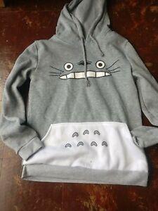 Studio Ghibli my neighbour Totoro Pattern Hoodie  Women Pullover Sweatshirt