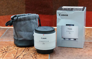 CANON EXTENDER EF 2X III, PERFECT CONDITION, BOXED