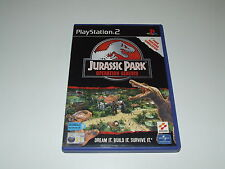 JURASSIC PARK for PS2  (PAL) VERY GOOD CONDITION COMPLETE COLLECTABLE!