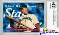 1995 Upper Deck #215 Alex Rodriguez STAR ROOKIE BECKETT 10 MINT Yankees