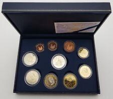 Spanien 2012 Etui Proof Handtasche Euros Set Spanien KMS Coffret