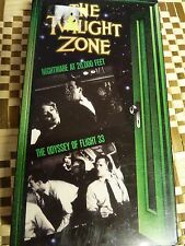 Twilight Zone, The - V. 3 (VHS, 1992) Nightmare at 20,000 ft, The Odyssey of Fli