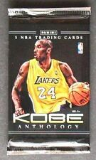 Panini nba kobe Anthology Black Mamba kobe bryant 5 card Pack