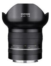 Obiettivi Samyang per fotografia e video Canon 14mm