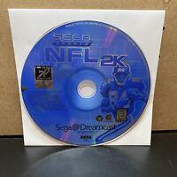 NFL 2K For Sega Dreamcast - Disc Only - Tested
