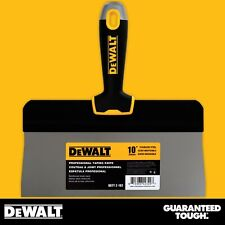 "DEWALT Taping Knife 10"" Stainless Steel Big Back Drywall Taping Tool"
