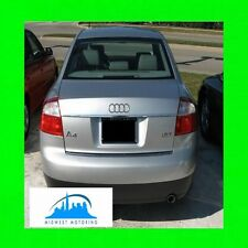 1995-2005 AUDI A4 PRECUT CHROME TRUNK TRIM MOLDING 95 96 97 98 99 00 01 02 03 04