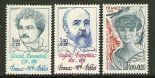SERIE TIMBRES 1896-1898 NEUF XX LUXE  - DAUMESNIL - FROMENTIN - ANNA DE NOAILLES