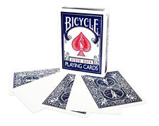 Blank Face Blue Back Playing Cards Bicycle New in box 56 Card Deck Gaff Magic