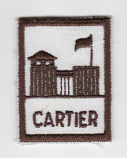 SCOUTS OF CANADA -  CANADIAN SCOUT QUEBEC CARTIER DISTRICT Patch