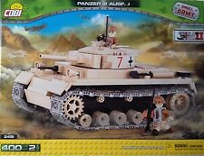 Cobi WW II Small Army German Tank Panzer III  Ausf. J Toy Bricks