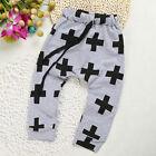 nouveau né enfants costume bébé garçon fille élastique pantalon sarouel
