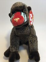Ty Beanie Baby Cheeks RETIRED Rare Mint Condition 1999 mint ty tag