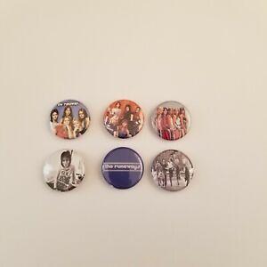 Vintage The Runaways Pinback Pin Back Lot 70s Rock & Roll Band Joan Jett
