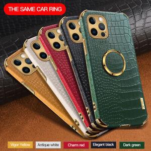 Für iPhone 12 Pro Max 11 XR XS X 8 7 6 Leder Stoßfest Schutzhülle Handy Taschen