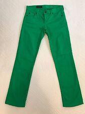 J Crew Kelly Green Matchstick Jeans St Patricks Day Size 26