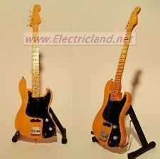 Mini Guitar MARCUS MILLER jazz bass memorabilia chitarra miniature basso