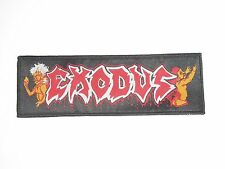 EXODUS BONDED BY BLOOD WOVEN PATCH