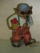 +# A004997_02 Goebel Archiv Muster Ringtale Raccoon Waschbär Old Crank mit Stock