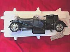 New ListingFranklin Mint 1930 Bugatti Royale Coupe Napoleon 1:24 Scale Diecast w Coa
