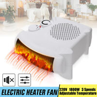 1800W Mini Electric  Portable Home Office Winter Warmer Fan Air