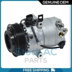 New OEM A/C Compressor fits Hyundai Elantra 1.8L - 2011 to 2013 - OE# 977013X601