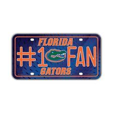 Metal Vanity License Plate Tag Cover (Embossed) University of Florida Gators