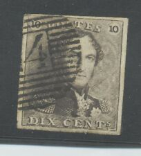 10 dix cent 1849 with weak double print 10. XF.  B338