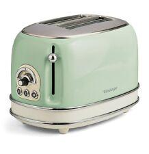 Tostapane Ariete Vintage 2 pinze acciaio tosta toast pane verde 155 810 w Rotex