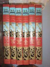 Jules Verne édition Delville pour Esso collection complète 6 volumes impéccables