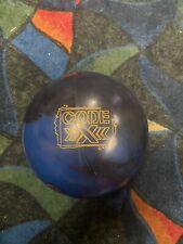 15lb Storm Code X Used Bowling Ball Fully plugged