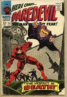 Daredevil #20-1966 gd/vg 3.0 Gene Colan The Owl