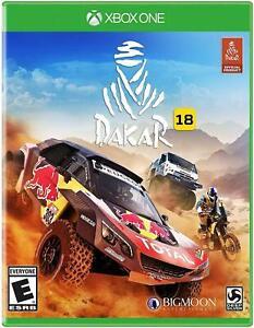 DAKAR 18 XBOX ONE! RALLYCROSS RACING CARS OFF ROAD RACE MUD DIRT RALLY WORLD