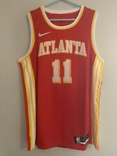 Trae Young Red Atlanta Hawks Jersey Size Large New With Tags