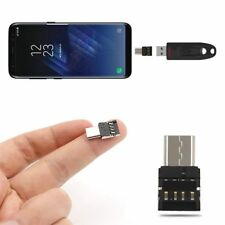 Tipo C a USB adaptador de conector OTG Flash Drive S8 Nota 8 PC portátil