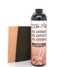 Eco-Flo Dark Brown Gel Antique 8 oz (236 mL) 2607-02 by Tandy Leather