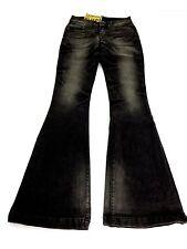 Neuf avec étiquettes Pratt's Motor Spirit Femme Buel Flare Leg Road Démon Jeans taille 26