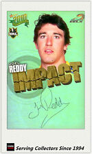 2010 Select NRL Champions Impact Foil Signature IS40 Joel Reddy (Eels)