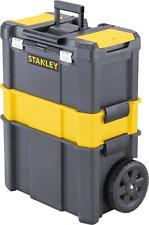 Carrello Cassetta Porta attrezzi Utensili Stanley con Ruote Modulare Trolley