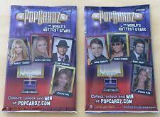 "Lot Of 2 2008 PopCardz Trading Cards Sealed Packs ""HOT PACKS"""