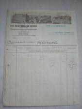 Alte Rechnungen -  F.W. Brügelmann Söhne  Frankfurt a.M.