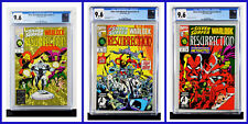 Silver Surfer Warlock Set Of 3 #1 #2 #3 CGC Graded 9.6 Marvel 1993 Comic Books